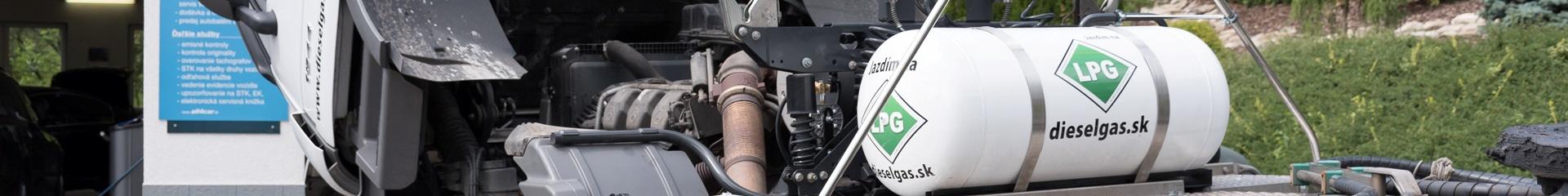 Montáž LPG do dieselových motorov